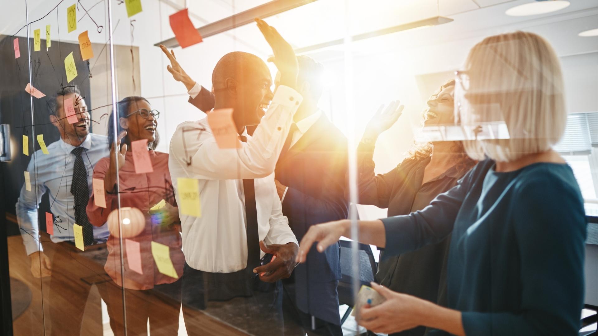 DEI Equitable Leadership High Five